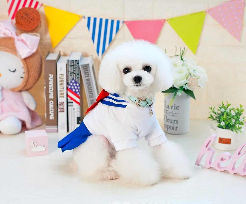 春夏犬服犬のドレスの服犬ボウ女子制服ドレス新ペット服チワワヨーキー