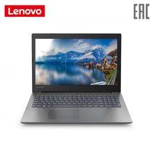 Ноутбук lenovo 330-15IKBR/15,6 FHD TN AG 200N/I3-8130U/4 GB/1 ТБ/128 GB SSD/MX150 2 Гб GDDR5/DOS/черный (81DE01DMRU)