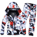 Free Shipping Men And W Ski Suit Super Warm Clothing Skiing Snowboard Jacket+Pants Suit Windproof Waterproof Winter Wear