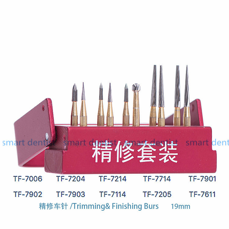 good quality Dental burs SBT tungsten steel intensive package SBT polishing set 10 pc/ set of dental materials 1pc zirkon zahn system dental milling burs and stylus 1l 2l 4l to be chosen