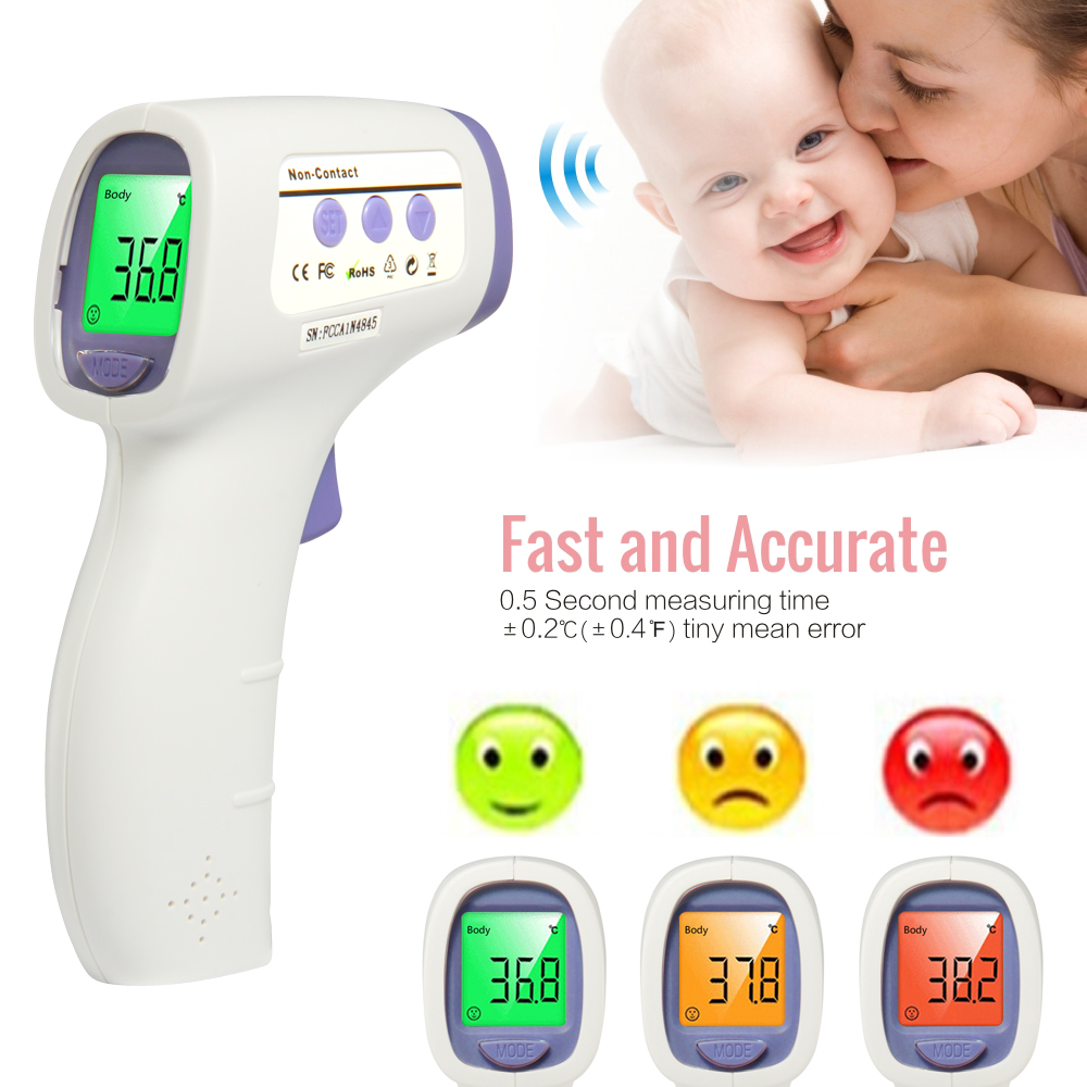 Non-contact Forehead Body Digital Termometro Infrared Babies Diagnostic-tool