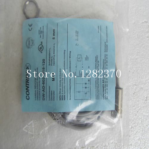 [SA] New original special sales CONTRINEX sensor switch DW-AD-602-M18-120 spot --5PCS/LOT цена