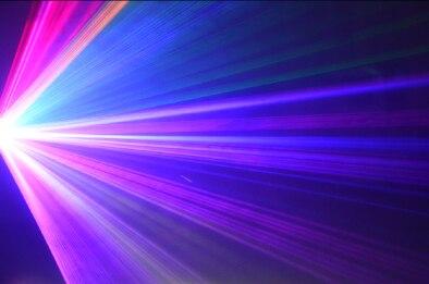 feixe de luz stage moving head em movimento 03