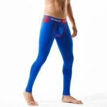 2019New SEOBEAN men's long johns cotton leggings solid themal male comfortable Long johns цена