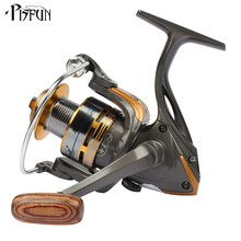 Pisfun HYD3000 spinning fishing reel 9+1BB 5.2:1 lightweight metal spool fishing coil for fresh water and salt water