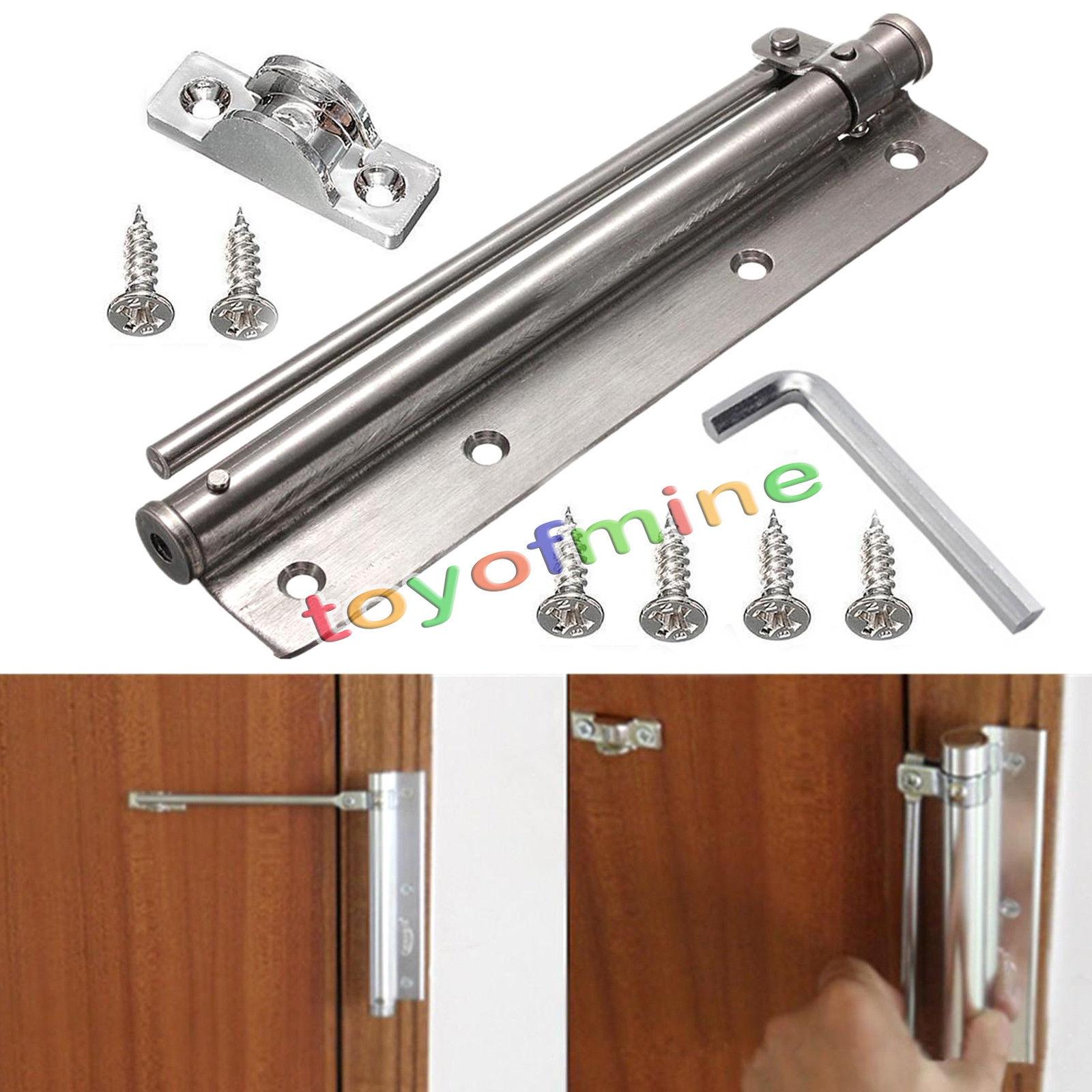 Home Office Doors Adjustable 180 deg Stainless Steel Door ...