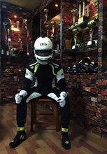 2018 оптовая продажа 2 слоя огнезащитной ткани гоночный костюм/FIA Homolaogation гоночный костюм безопасности