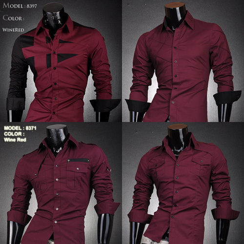 Wine colored shirt mens kamos t shirt for Wine colored mens dress shirts