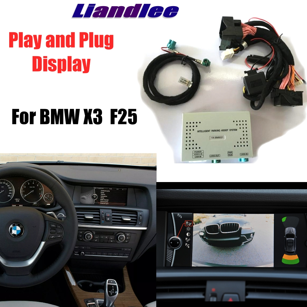 Liandlee Parking Camera Interface Adapter Back Up Kits For BMW X3 F25 CCC CIC NBT EVO Special Model Display Upgrade
