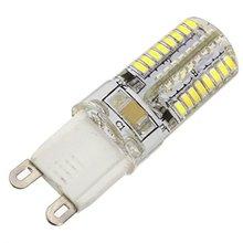 10x 3W G9 LED Corn Lights T 64 SMD 3014 300-400 lm Warm White / Cool White AC 220-240 V 360 Degree corn led