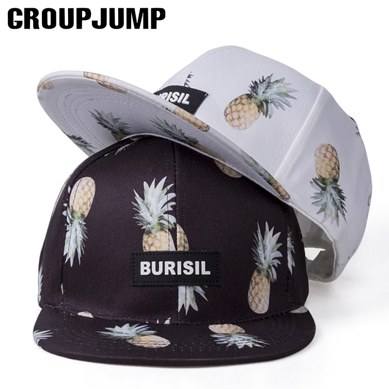 Cool!2017 Trend Fruit Print Cap Adult/Kids Snapback Caps Hip Hop Hat For Children Summer Caps For Girls Baseball Hat For Boys