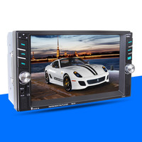 6.6 Bluetooth Car Stereo Audio In Dash Aux Input Receiver SD/USB MP5 Player
