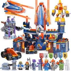 Compatibile legoing 70357 Nexion cavalieri Knighton Castello 1295pcs Knighton Castello Figura building blocks giocattoli dei mattoni per i bambini