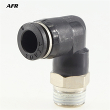 10PCS/LOT Pneumatic fitting quick push in connector pipe PL4-01 PL6-M5 PL6-02 PL6-01 PL12-03 PL8-02 PL10-02