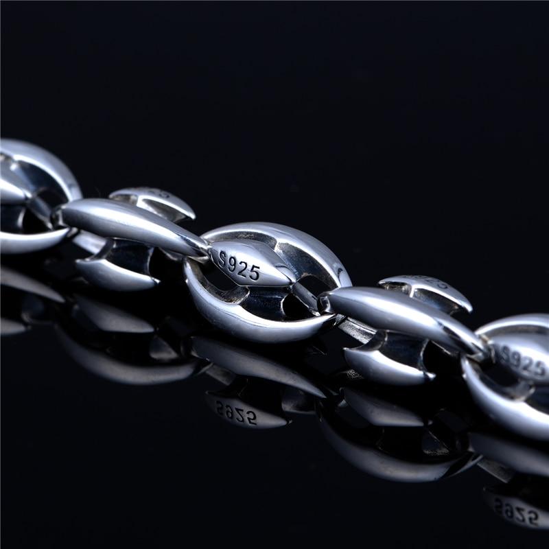 Mode marke halskette 925 Sterling Silber halskette anhänger schmuck, die DIY zubehör passt marke anhänger charme XLT001H20 - 3