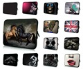 Running Horse Laptop Bag 17.3 17.4 inch Sleeve Case Cover Pouch + Hide Handle Bags For Macbook Pro 17 Neoprene Computer PC Bag