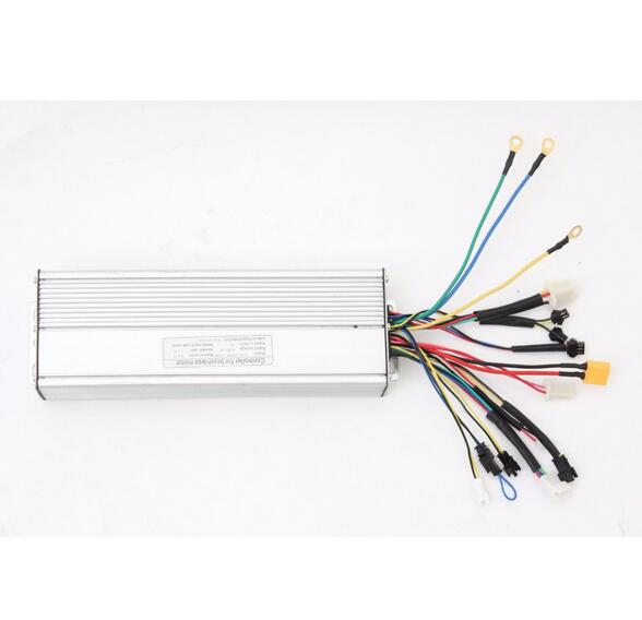ФОТО Customized EBike 72V 2000W Brushless  Controller 18MOSFET 50A Regenerative Function For Electric Bicycle
