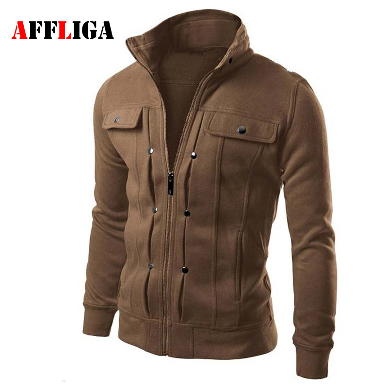 Hot Sale 2017 New Fashion Brand Jacket Men Clothes Trend Slim Fit High Quality Male Zipper ...
