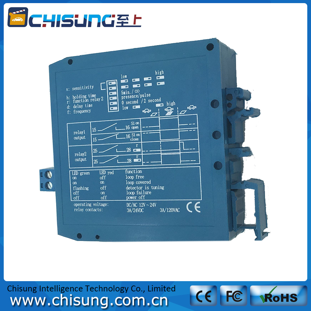 Magnetic Autocontrol M1H Blue Single Channel Traffic Inductive Loop Detector Dual 12V/24VDC single sided blue ccs foam pad by presta