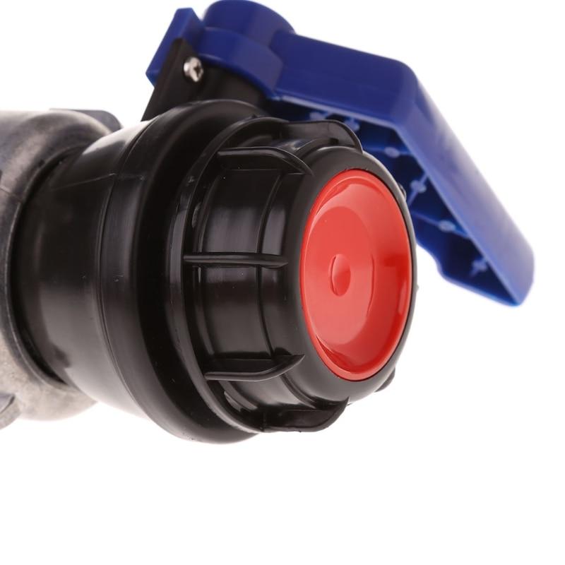 Ventil Sanitär Ibc Tote Tank Ball Ventil Ablauf Adapter 2,95 grob Gewinde Drop Schiff