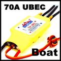 Mystery 2-7S Lipo 70A ESC 5V/3A UBEC Brushless Speed Controller ESC For RC Boat reverse Ship Forward/Backward Water Cool