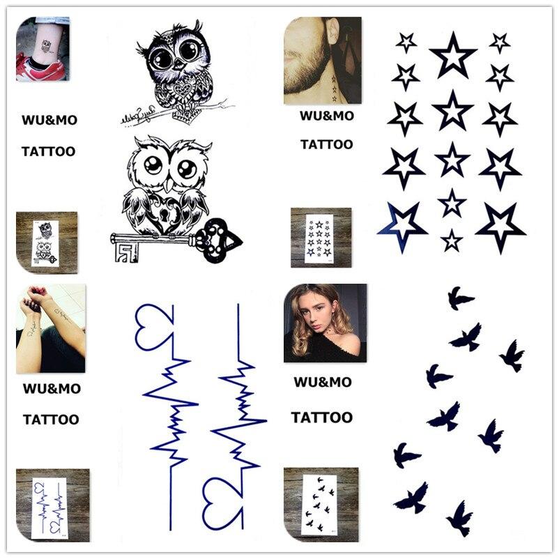 10.5x6 см Эротические товары Дизайн Мода Временные татуировки наклейки Временная Body Art Водонепроницаемый татуировки узор оптовая продажа