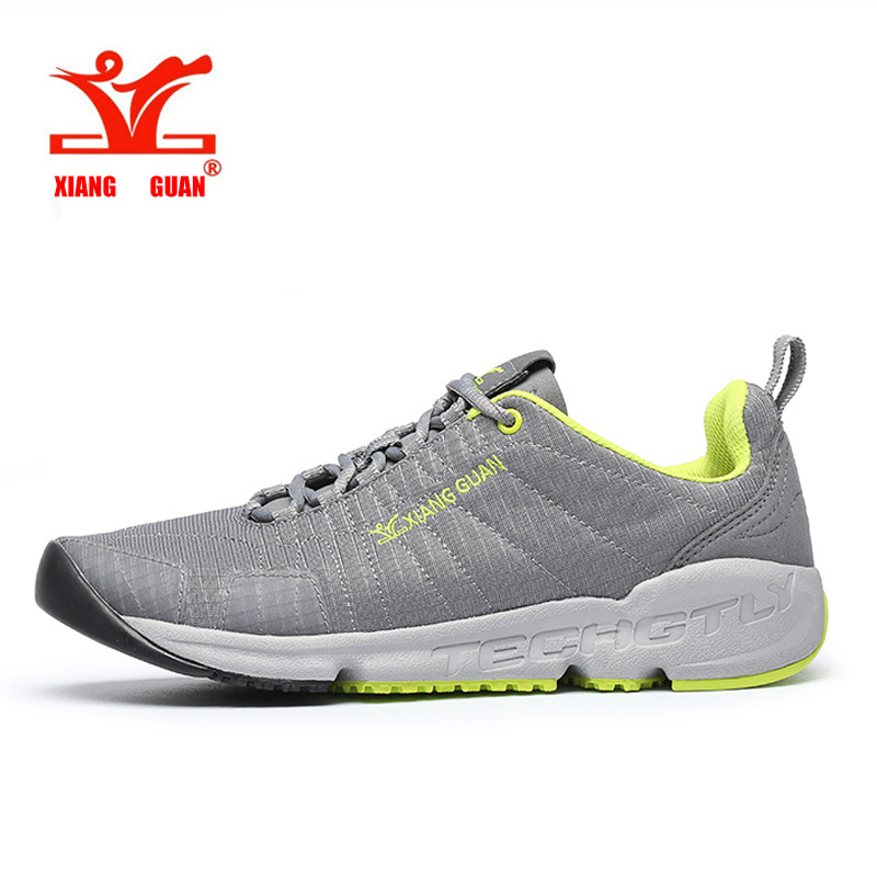 2017 XIANG GUAN Summer Men Trail Running Shoes Mesh Athletic Trainers Walking Breathable Man Outdoor Sports Sneakers size 36-45 2016 new summer professional men s running shoes breathable mesh outdoor sports sneakers men trainers zapatos hombre 39 44