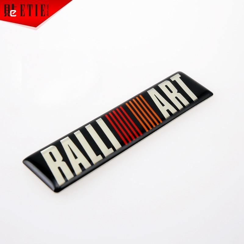 Self-Adhesive Emblem for Mitsubishi Ralliart