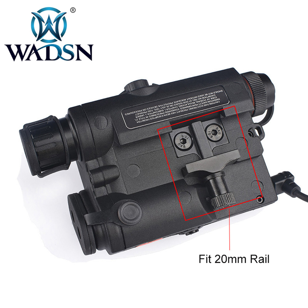 Image 3 - WADSN Airsoft PEQ LA5C With green dot lazer Tactical UHP Appearance No Function Just Green Laser Zero Reset Weapon Lights WEX453-in Weapon Lights from Sports & Entertainment