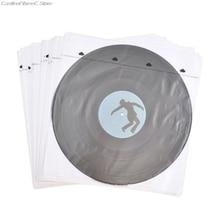 20 pièces Anti statique papier de riz disque intérieur sac manches protecteurs pour 12 pouces vinyle disque platine accessoires