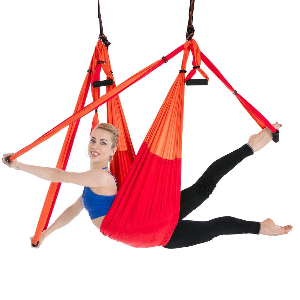 Nylon Taffeta Yoga Hammock Anti Gravity Aerial Kekuatan Tinggi Ayunan Hamac Kursi Gantung Kebugaran Inversi Sabuk Dapat Menahan 200kg Hanging Chair Hammock Hammocknylon Hammock Aliexpress