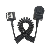 2m Black MQ E3 Off Camera TTL Cord Removing Cable For C Anon Camera E TTL