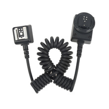 НОВЫЙ 2 м Черный MQ-E3 Выкл Камеры TTL Шнур Удаления Удаленной Вспышки горячий Башмак Синхронизация Шнур Кабель Для C anon камера E-TTL/E-TTL II