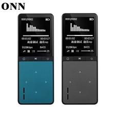 2016 Nuevo Bluetooth Deporte Reproductor de MP3 de Audio Portátil 8 GB con altavoz incorporado de fm radio podómetro ape flac reproductor de música onn W8