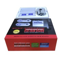 Super Mini Classic 400 In 1 TV Game Console With Dual Wired Gamepad Controls For Handheld