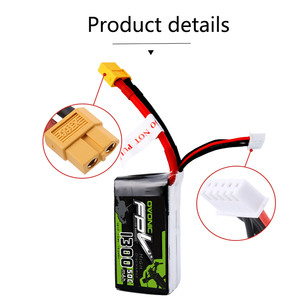 Image 4 - Ovonic High Rate Battery 1300/1550 MAh3 4S 50 80 100C Through FPV lithium Battery