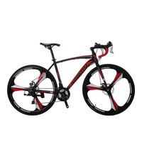 Cyrusher XC550 Road Racing Bike 700Cx28C Сталь рама 21 Скорость 27,5 из магниевого сплава обода дорога Bicicleta велосипед двойной диск тормоз