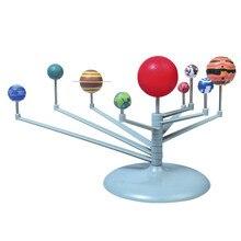Nine planets model DIY Explore Nine Planets in Solar System Planetarium Model Kit Children Science Educational Teaching toys