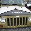 Brand New Car Motor Capó Guardia Cubierta Del Sujetador Sujetador para Jeep Wrangler JK 2007-2015 Motor Capó Negro de Lona T Estilo de Máscara