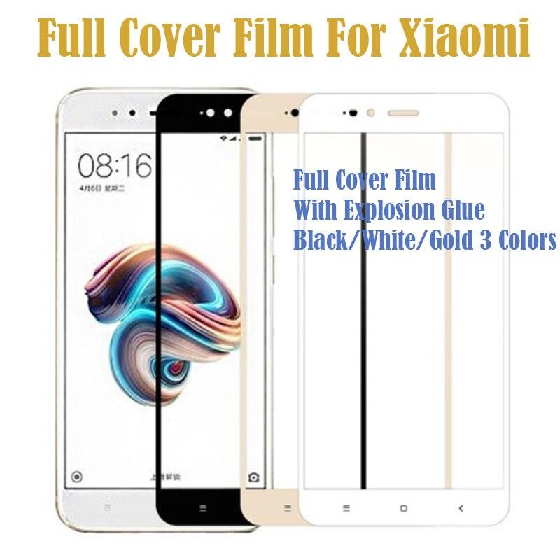 Ultra HD Screen Protector Case For Xiaomi Mi A1 5X Screen Protector Tempered Glass Film For Xiaomi MiA1 Mi5X+ Retail Safety Box