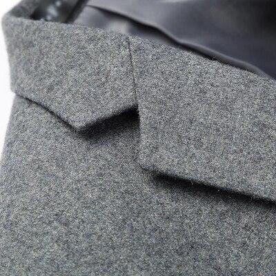 Nieuwe Mode Casual Mannen Blazer Wol Slim Fit Smart Stijl Pak Blazer Masculino Mannelijke Past Jasje Blazers Mannen M 4XL - 5