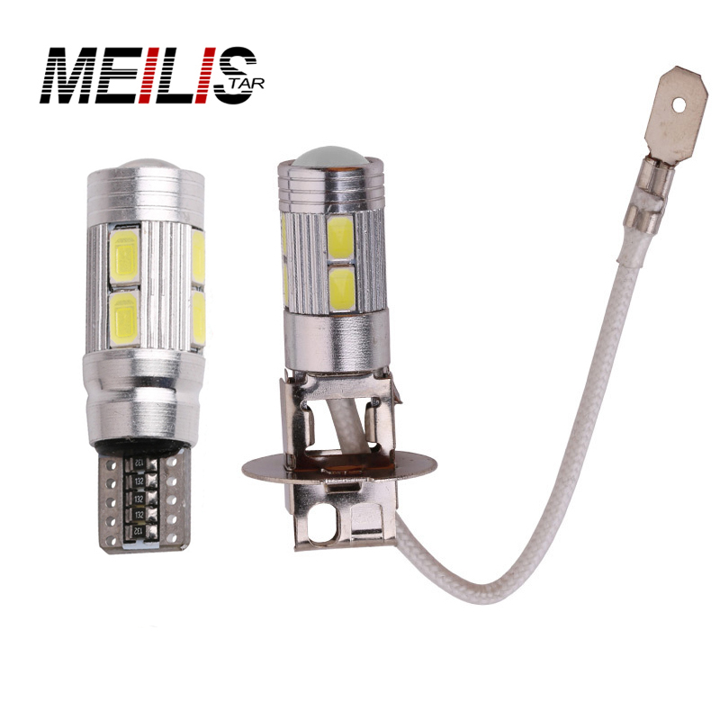 High Power 12v 1pcs H3 t10 led car light Fog led high power lamp 5630 smd Auto car led bulbs Car Light Source parking Headlight humidifier home add water smart wetness mute bedroom air high capacity office aromatherapy machine