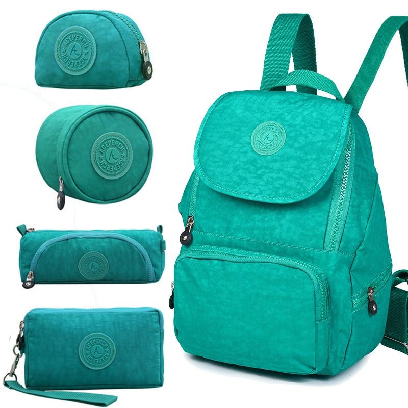 ACEPERCH femmes Original Escolar sac à dos fille étanche en Nylon sac à dos dame sacs à dos sac de voyage décontracté Mochila Infantil Menina - 4