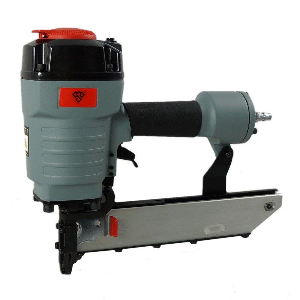 Hot Sale N851A Air Nail Gun Kit Pneumatic Wide Crown Stapler Pneumatic Nail Gun Kit for Make Sofa/Furniture