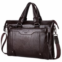 European And American Style Casual Men S Briefcase Shoulder Bags Laptop Crossbody Messenger Bag Men Leather