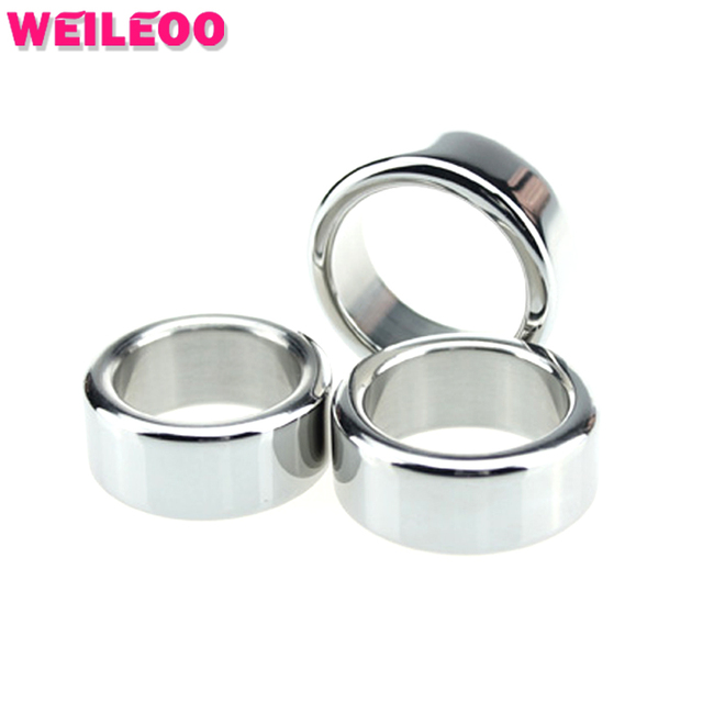 Reinforced type delay cock ring stainless steel penis ring cockring ball stretcher adult sex toys for men sex toys for couples
