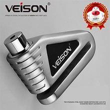 VEISON  Motorcycle Lock Stainless Steel Disc Brake Electric Car Anti-Theft + 3keys For Motorbike MTB Bike