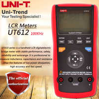 UNI-T UT612 Handheld LCR Digital Bridge Meter Inductors/Capacitors/Resistance Testers Data Storage USB Data Transfer Backlight