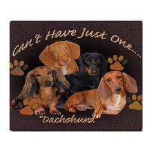 Dachshund, Cant Have Just One Art Soft Fleece Throw Blanket Throws Fleece Blanket Manta Coberto For Sofa/Bed/Car/Office(China)