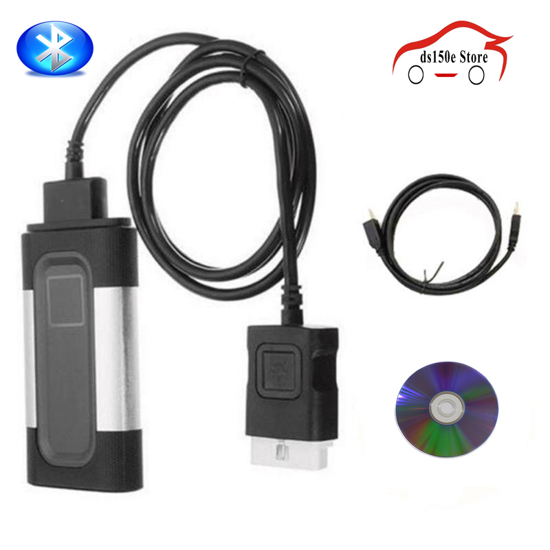 цены Bluetooth TCS CDP Pro Plus Car Truck OBD2 obdii Code reader Scanner Scan Tools OBDII Diagnostic-tool Kit for Autocom with CD